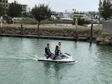 沖縄でジェットの免許をまもなく受付始めさせて頂きます!