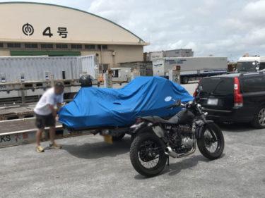 ジェットスキー&バイクを沖縄に送って夢の沖縄ライフをお手伝いをさせて頂きました!