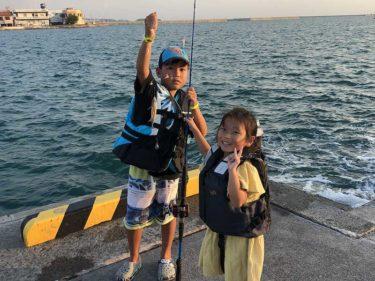 沖縄でファミリーフィッシング